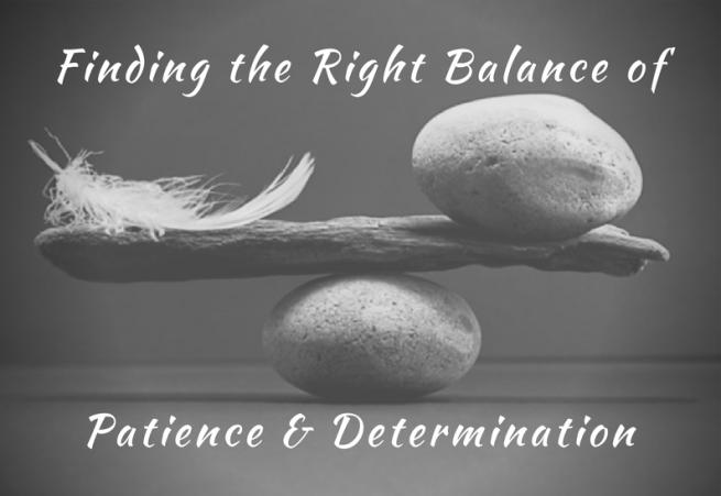 Patience & Determination